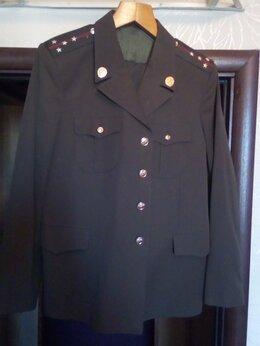 Военные вещи - Форма армейская китель брюки, 0