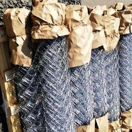 Заборчики, сетки и бордюрные ленты - Продам сетку рабицу оцинкованную Рязань, 0