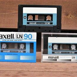 Музыкальные CD и аудиокассеты - Аудиокассеты- Maxell-LN 90- Japan-85г СССР-, 0