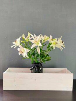Горшки, подставки для цветов - Деревянный ящик для цветов (кашпо), 0