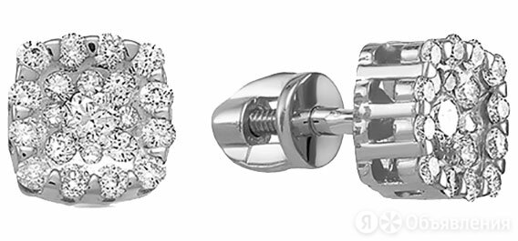 Серьги Vesna jewelry 4971-251-46-00 по цене 41460₽ - Серьги, фото 0