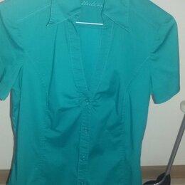 Блузки и кофточки - Блузка фирмы Esprit зелёная 46 размер, 0