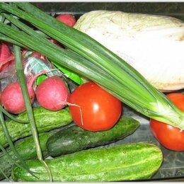 Продукты - ПРОДУКТОВЫЙ НАБОР экологически чистых овощей и фруктов., 0