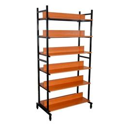 Стеллажи и этажерки - Стеллаж библиотечный двухсторонний, 0