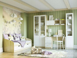 Кровати - Детская Оливия 3 Дуб Сонома/белое дерево, 0