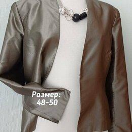 Пиджаки - Пиджак шелковый, 0