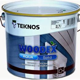 Пропитки - Teknos Aqua Solid (Аква Солид), 0