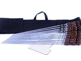 Шампуры - Шампуры профессиональные с деревянной ручкой 12 шт, 0