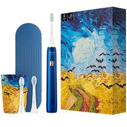 Зубные щетки - Электрическая зубная щетка Xiaomi Soocas X3U Ван-Гог (Синяя), 0