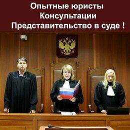 Финансы, бухгалтерия и юриспруденция - Представительство в суде.Консультации.Опыт, 0