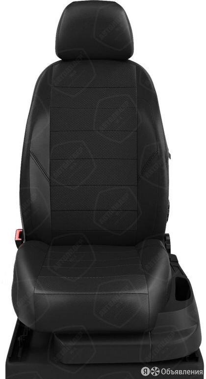 Чехлы на сидения Audi A4 2007 2015 Черный (арт.AU01-0210-EC01) по цене 7070₽ - Аксессуары для салона, фото 0