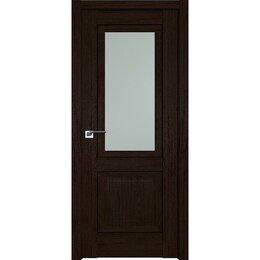 Межкомнатные двери - Дверь межкомнатная Profil Doors 2.88XN Дарк браун - со стеклом, 0