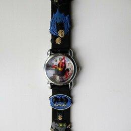 Наручные часы - Часы детские (рабочие) с погрызенным ремешком и севшей батарейкой, 0