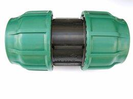 Водопроводные трубы и фитинги - Муфта ПНД 110 компрессионная, 0