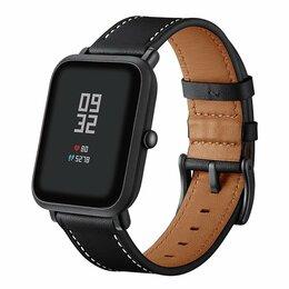 Ремешки для умных часов - Кожаный ремешок для Xiaomi Amazfit Bip, 0