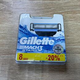 Бритвы и лезвия - Сменные кассеты Gillette Mach3 Start, 0