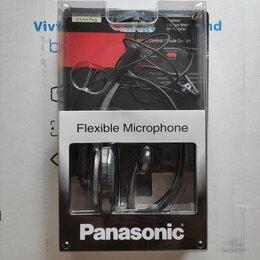 Гарнитуры для проводных телефонов - Проводная гарнитура Panasonic RP-TCA430, 0
