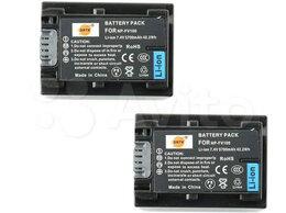 Аккумуляторы и зарядные устройства - Аккумуляторы Sony NP-FV70 и NP-FV100 Dste, 0