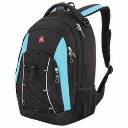 Рюкзаки - Рюкзак WENGER универсальный, черно-синий,…, 0
