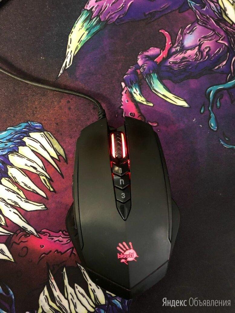 Мышь a4tech bloody v8m black по цене 1000₽ - Мыши, фото 0
