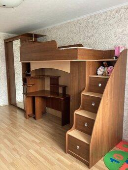 Кроватки - Детская стенка с кроватью и шкафом, 0
