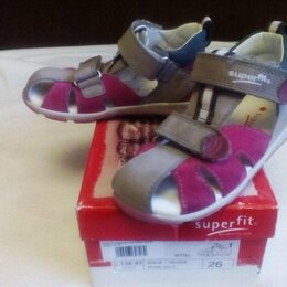 Босоножки, сандалии - Superfit сандалии р.26 17 см как новые, 0