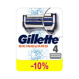 """Средства для бритья - Кассеты для бритья сменные Gillette """"Skinguard…, 0"""
