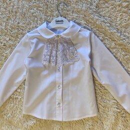 Комплекты и форма - Форма школьная (блуза и сарафан) 28 (122 см), 0
