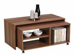 Столы и столики - Журнальный столик с полочками, 0