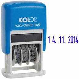 Надувные, разборные и гребные суда - Датер месяц цифрами COLOP 3,8мм, 1стр, пластик, банк, 0