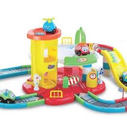 """Детские железные дороги и автотреки - 114960214 Конструктор - трек """"Паркинг"""" /S+S/, 0"""
