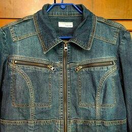 Куртки - Куртка джинсовая р.48, 0