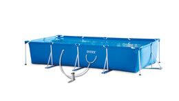 Бассейны - Купить каркасный бассейн прямоугольный Intex с…, 0