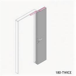 Защелки и завертки - Система Twice MORELLI 180-TWICE RIGHT 60/9010322, 0
