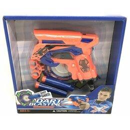 Игрушечное оружие и бластеры - JL-513 Бластер с мягкими пулями, 0