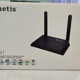 Оборудование Wi-Fi и Bluetooth - Беспроводной маршрутизатор Netis N1 новый, 0