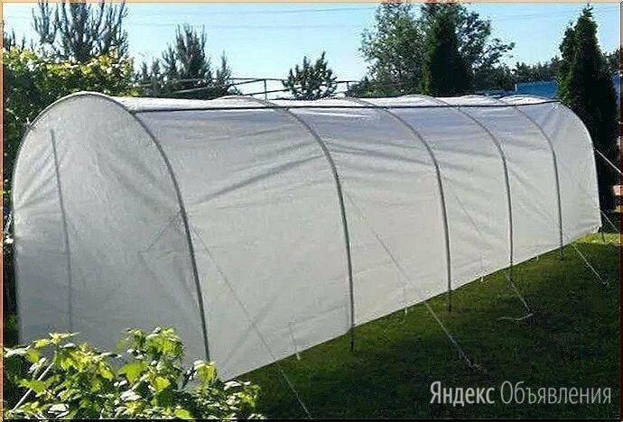 Парник дачный Большой Урожай длина 7 высокий 1,7 м укрывной материал по цене 4490₽ - Парники и дуги, фото 0