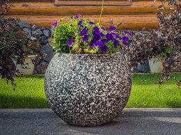 Садовые фигуры и цветочницы - Вазон из бетона, 0
