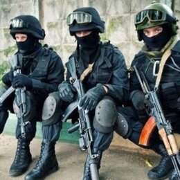 Полицейские и военные - Полицейский боец (ОМОН), 0