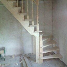 Лестницы и элементы лестниц - Лестницы из массива дерева , 0