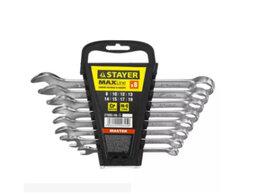 Рожковые, накидные, комбинированные ключи - Набор гаечных ключей STAYER, 0