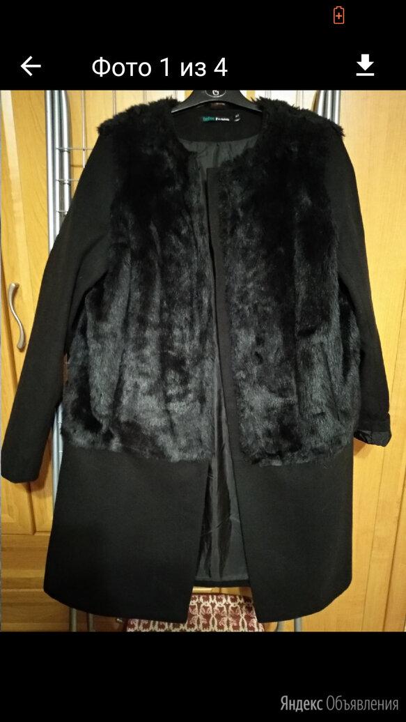 Стильное пальто р.р 48 -52 по цене 2000₽ - Пальто, фото 0