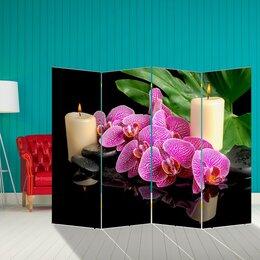 """Диваны и кушетки - Ширма """"Орхидея"""", 200 × 160 см, 0"""
