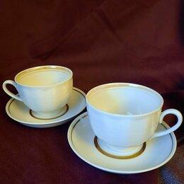 Посуда - Чайные пары СССР Дулево 300мл, 0