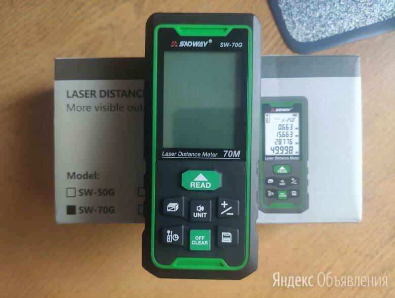 Лазерный дальномер SNDWAY SW-70G по цене 4100₽ - Измерительные инструменты и приборы, фото 0