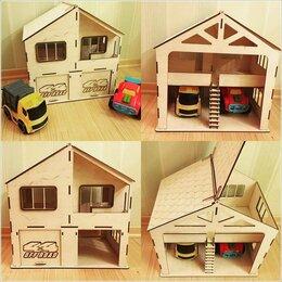 Игрушечная мебель и бытовая техника - Детский домик для кукол, 0