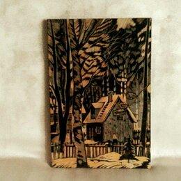Картины, постеры, гобелены, панно - Картина на дереве, 0
