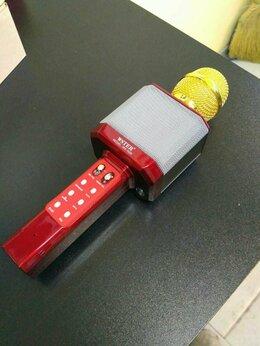 Микрофоны - Микрофон Magic Karaoke Wster WS-1828 красный, 0