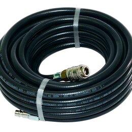 Шланги и комплекты для полива - Шланг FUBAG 6x11мм, 20м с фитингами рапид, маслостойкая термопластичная резин..., 0