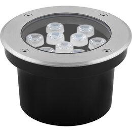 Интерьерная подсветка - Светодиодный светильник тротуарный (грунтовый) Feron SP4113 9W RGB 230V IP67, 0